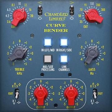 uad audio plug ins universal audio chandler limited curve bender mastering eq