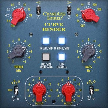 Chandler Limited Curve Bender Mastering EQ