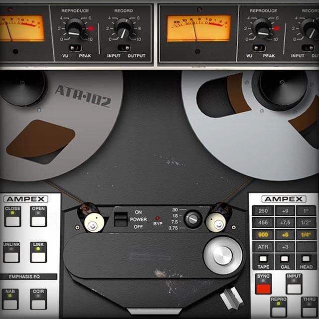 Ampex® ATR-102 Mastering Tape Recorder | UAD Audio Plugins | Universal Audio