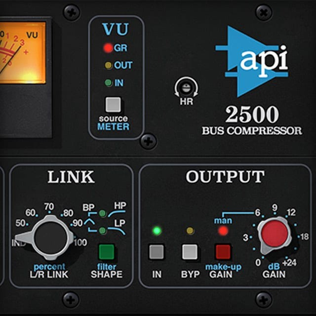 API 2500 Bus Compressor | UAD Audio Plugins | Universal Audio