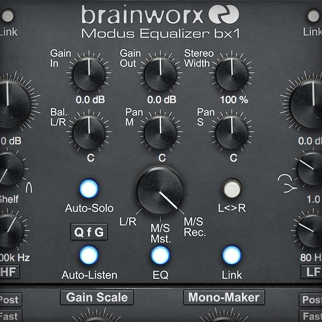 Brainworx bx_digital V3 EQ Collection | UAD Audio Plugins