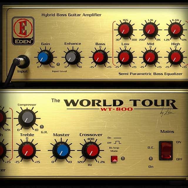 Eden® WT800 Bass Amplifier   UAD Audio Plugins   Universal Audio