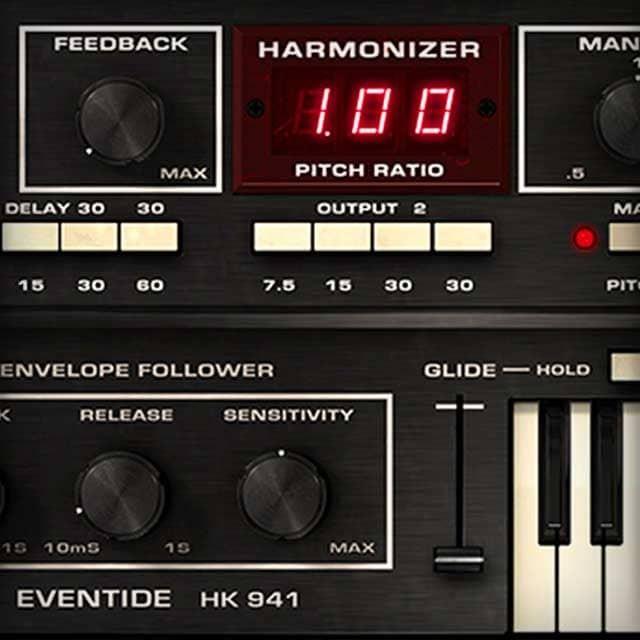 Eventide® H910 Harmonizer | UAD Audio Plugins | Universal Audio