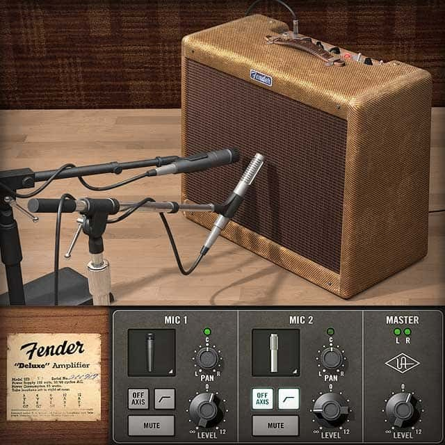 Fender Tweed Amp >> Fender 55 Tweed Deluxe Uad Audio Plugins Universal Audio