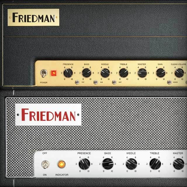 Friedman Amplifiers Collection   UAD Audio Plugins   Universal Audio