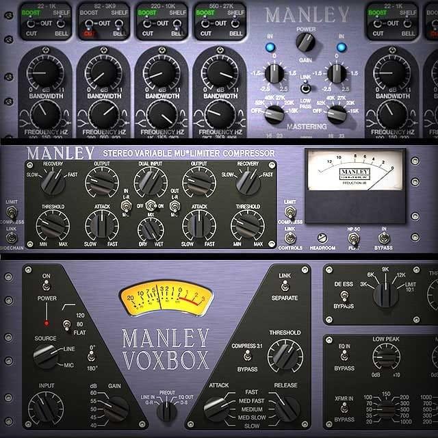 Manley Complete Bundle | UAD Audio Plugins | Universal Audio