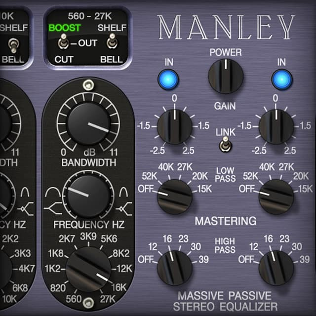 Manley® Massive Passive EQ | UAD Audio Plugins | Universal Audio