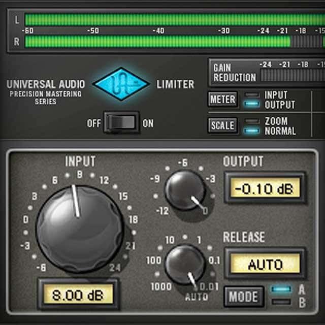 Precision Limiter | UAD Audio Plugins | Universal Audio