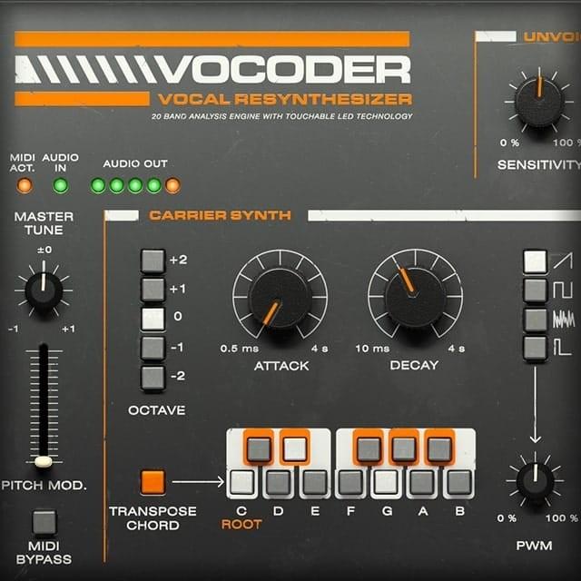 Softube Vocoder | UAD Audio Plugins | Universal Audio