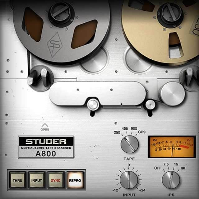 Studer® A800 Multichannel Tape Recorder | UAD Audio Plugins | Universal  Audio