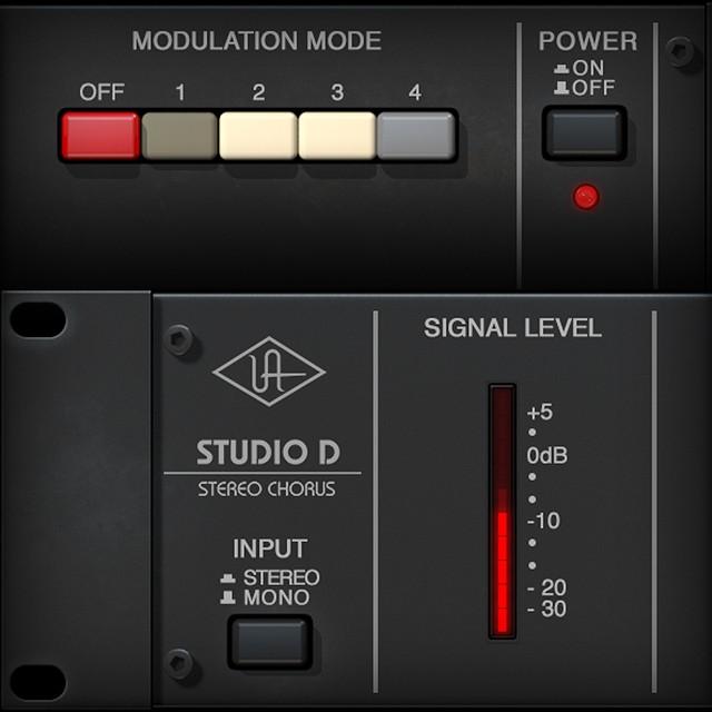 Studio D Chorus   UAD Audio Plugins   Universal Audio