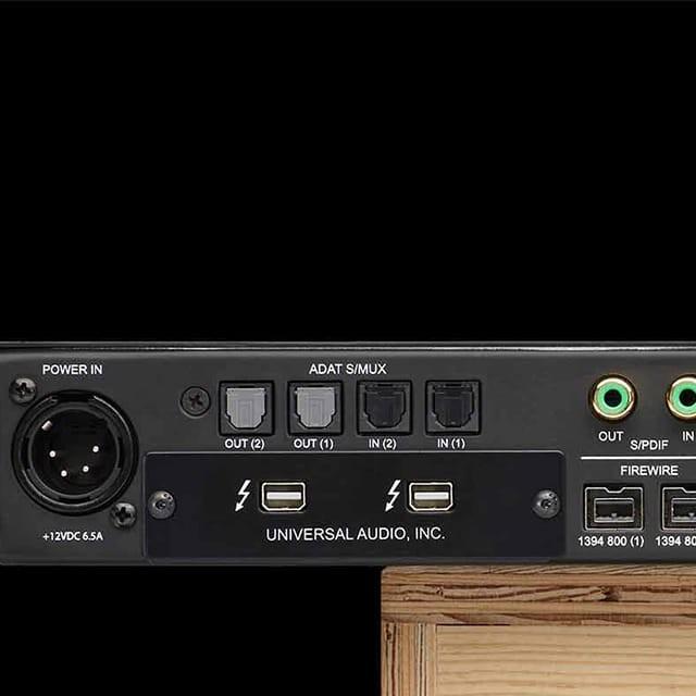 Thunderbolt 2 Option Card | Audio Interfaces | Universal Audio