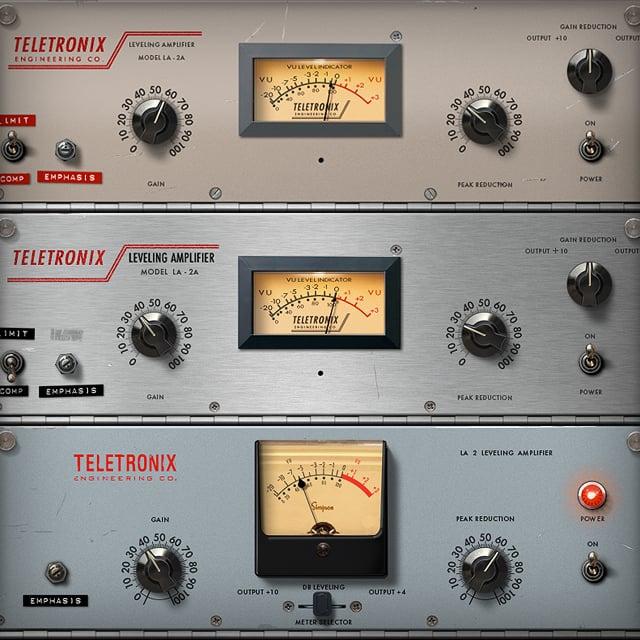 Teletronix LA-2A Classic Leveler Collection