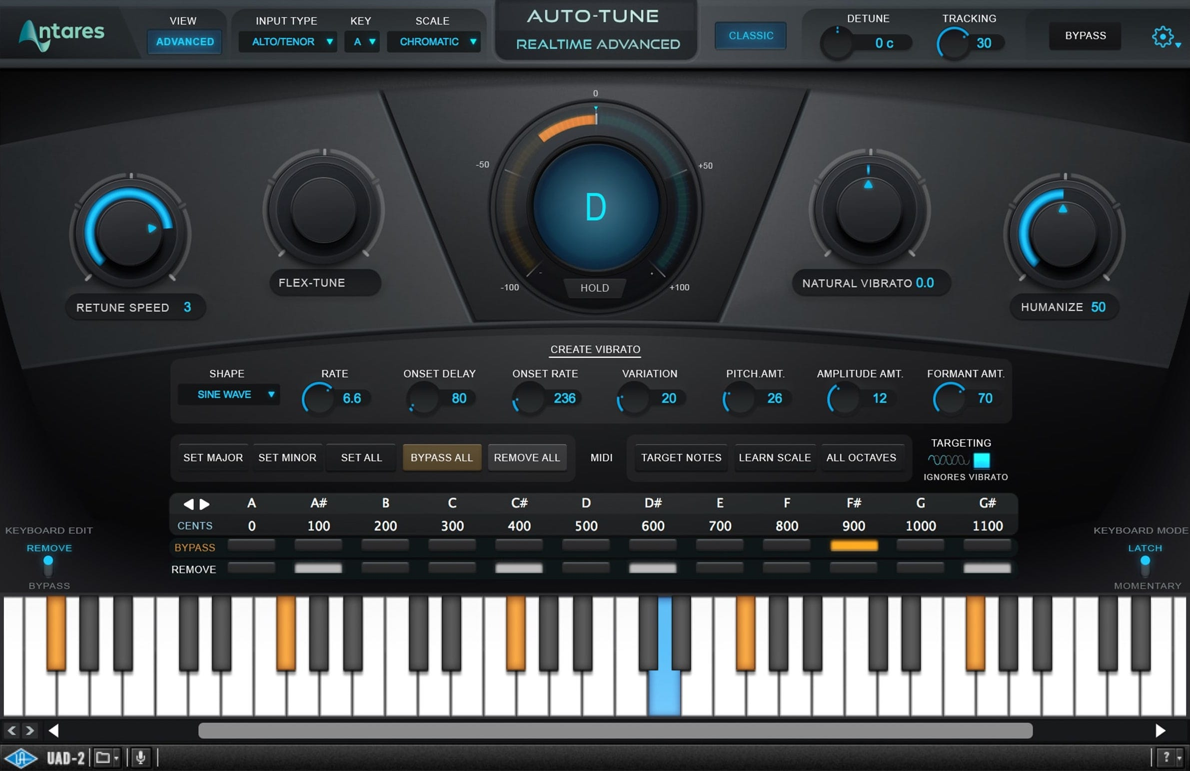 Antares Auto-Tune Realtime Advanced | UAD Audio Plugins | Universal