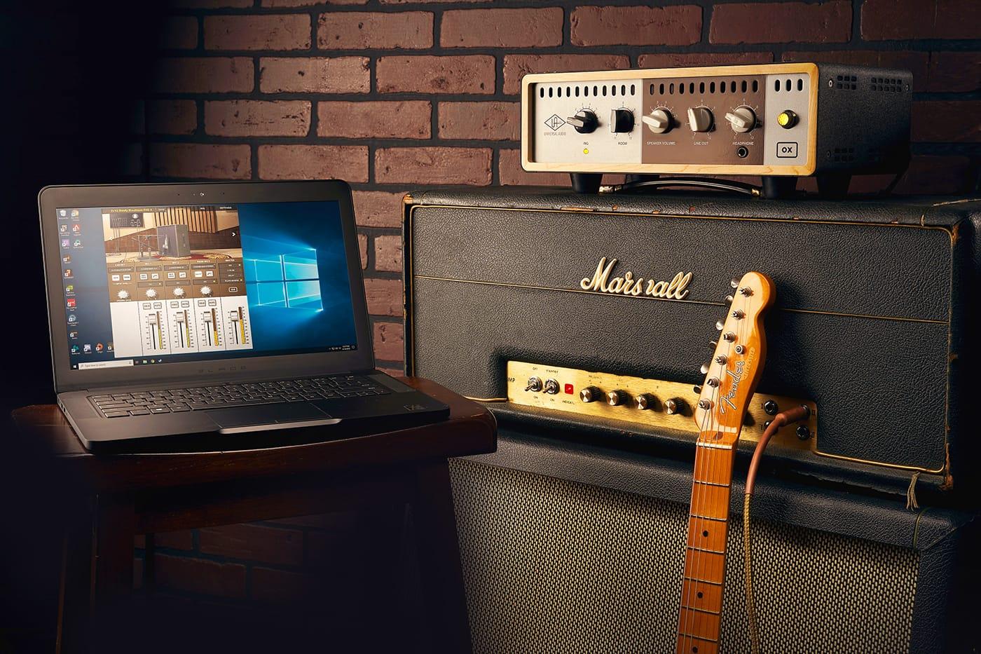 Universal Audio Announces OX Amp Top Box Windows 10