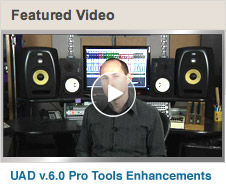 Featured Video: v.6.0 Pro Tools Enhancements