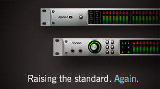 Apollo.  Raising the Standard.  Again