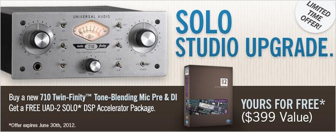 SOLO Studio Upgrade