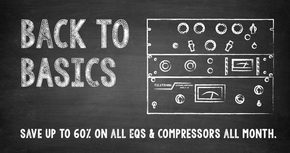 UA's Back to Basics Plug-In Sale
